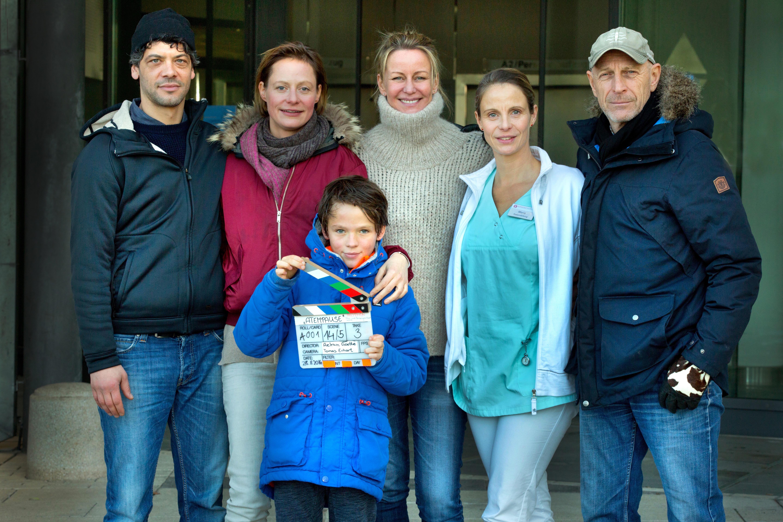 Atempause Drehstart, Carlo Ljubek, Katharina Marie Schubert, Mikke Rasch, Regie Aelrun Goette, Julia Jäger, Kamera Tomas Erhart, 2016